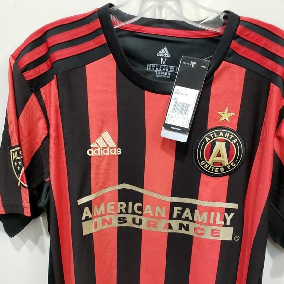 Addidas Atlanta United FC Soccer Jersey Medium